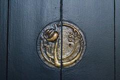 Entrance Hall Cupboard detail (Raven Photographic) Tags: glasgow scotland bellahouston houseforanartlover mackintosh