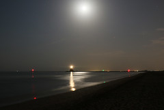 Leuchtturm in der Nhe von Venedig (Tica) Tags: nachtaufnahmen italien leuchtturm