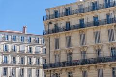 Building set Rue de la Republique and Rue de la Joliette (Scott_Nelson) Tags: marseille france provencealpesctedazur fr travel mediterranean