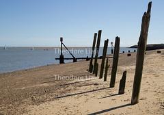 Bawdsey (bambinoimages II) Tags: bawdsey suffolk england quay wood posts sea breakers beach eastanglia