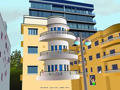 Building in Yarkon street Tel Aviv