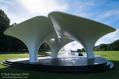 Lilas by Zaha Hadid @ Beyond Limits, Chatsworth House (tricky (rick harrison)) Tags: lilas zahahadid hadid art architecture sculpture beyondlimits sotherbys chatsworth