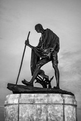 26 (Arvind Balaraman) Tags: gandhi mahatma statue dc monument embassy indian row bronze washington symbol india history landmark memorial hero nonviolence moscow statues portrait old man delhi tamil scripture neetharperumai thiruvalluvar thirukkural kural26
