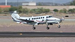Raytheon B300 (350) King Air N160AC 'Twilight 160' (ChrisK48) Tags: 300 350 aircraft airplane dvt kdvt kingair n160ac phoenixaz phoenixdeervalleyairport raytheonb300 twilight160 sunsetaviation