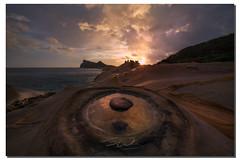 The eye of the storm, , Taiwan (james wang photography - wangjam) Tags: candle rock malakas typhoon yeliu    candlerockmalakastyphoonyeliu
