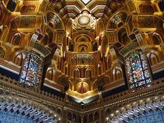 Cardiff, Cardiff (Oxfordshire Churches) Tags: cardiff cardiffcastle castellcaerdydd castles wales cymru panasonic lumixgh3 uk unitedkingdom johnward stainedglass palaces statelyhomes explore explored