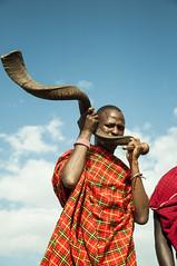Horn Masai sound (jhderojas) Tags: masai mara kenia horn