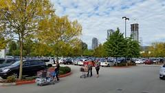 Autumn shopping (D70) Tags: 255366 costco parking burnaby bc canada autumn shopping