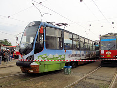 Konstal/Modertrans 105N-AC, #635, Tramwaje lskie (transport131) Tags: tram tramwaj bdzin t kzk gop konstalmodertrans 105nac zajezdnia depot