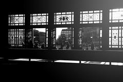 Station (dalibor.papcun) Tags: station budapest street stphotography streetphotography streetbudapest blackandwhite monochromat light contrast people silluete keletipalyaudvar city citypulse citylife town building nikon