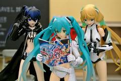Gonna be the Twin-Tail (RON5864) Tags: figma action figure good simile company twin twintail tail gonna be miku angela balzac brs black rock shooter racing manga