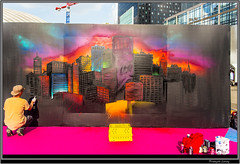 Urban Week La Defense - City (Franois Leroy) Tags: franoisleroy france dfense puteaux parvis urbanweek streetart dessin grafitti