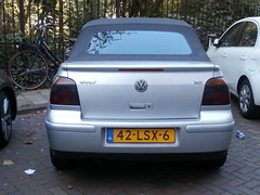 Volkswagen Golf 4 cabrio 2001 (a.k.a. Ardy) Tags: 42lsx6 softtop