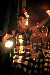 Fire Dancer (brianfarrell) Tags: ocean sea bali indonesia relax march surf peace lot wave serene relaxed tranquil tanahlot tanah 2013