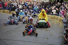 Leader of the Pack (Generik11) Tags: sf costumes people silly race bikes bigwheels potrerohill sfist sortof byobw bringyourownbigwheel byobw2013
