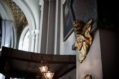 Gold (Henrik J Kugelfest) Tags: leica color church digital skull gold aperture sweden stockholm bokeh 35summicron leicam8 sodermalm fstockholm
