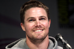 Stephen Amell (Gage Skidmore) Tags: california holland colin paul center stephen convention marc guggenheim arrow anaheim willa wondercon blackthorne donnell 2013 amell