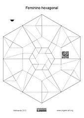 Feminino hexagonal CP (Mlisande*) Tags: origami bowl mlisande