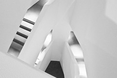 Stairs, Walker Museum, Minneapolis (Sharon Mollerus) Tags: minneapolis walkerartmuseum