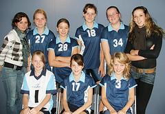 2007 Meisjes C4 - Trs. Ilse Wijngaarden en Kim Rozemuller