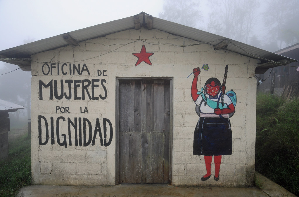 The world 39 s best photos of streetart and zapatista for Mural zapatista