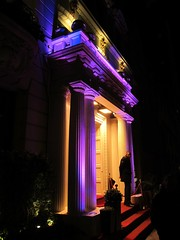 Purple-Columned Building (Joe Shlabotnik) Tags: purple columns faved 2013 march2013