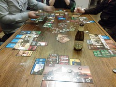 Seven Wonders (djpiebob) Tags: game gaming boardgame sevenwonders nerdery houseness shinycameraphone