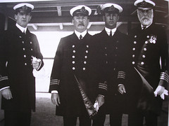 Officers of The RMS Titanic , Capt: Edward J. Smith on Right. Lft: Murdock Left. (Jimmy Big Potatoes) Tags: ship iceberg atlanticocean oceanliner whitestarline rmstitanic tragedie