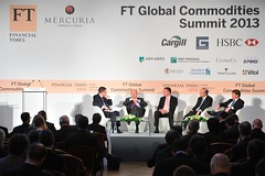 Metals and Minerals panel (Financial Times Live) Tags: summit ft times javier financial blas global commodities