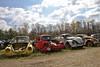 Punch Buggy Broken (Rich Renomeron) Tags: volkswagen junkyard vwbug wrecks canoneos60d canonefs1585mmf3556isusm laborday2013candidate
