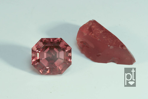 Color Change Garnet, Cut & Rough - Incandescent
