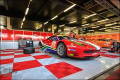 Preparation.. (BarryAdams Images) Tags: italia garage ferrari silverstone april endurance lemans elms 458 wec 2013 6hrs barryadams