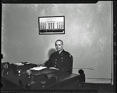 Major Campbell Johnson in His Office: 1942 (Washington Area Spark) Tags: party black history 1936 army for march major dc washington industrial action killing african district 1938 rally negro protest johnson police columbia parade communist demonstration congress civil national american rights council service shooting colonel campbell brutality democratic officer committee reserves alliance selective 1937 elks cio naacp ministers interdenominational