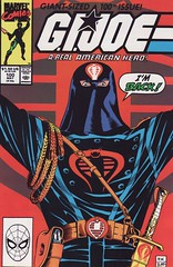 GI Joe #100 (CG76) Tags: comics gijoe cobra joe marvel gi larryhama cg76