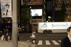 Fantastic future (fukapon) Tags: people girl 35mm tokyo pentax  akihabara akiba smc maid fa  k7 f20  smcpfa35mmf20al