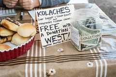 DAI DUE KOLACHES Fund Raiser for WEST (-Dons) Tags: usa austin texas unitedstates tx donations kolaches austinfarmersmarket daidue westfundraiser westdisaster