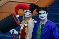 Harley Quinn and Joker Cosplay - Awesome Con DC 2013 (Stephen Little) Tags: cosplay cosplayer comicconvention cosplayers costumeplay 50mmf17 minolta50mmf17 minoltaaf50mmf17 awesomecon minolta50mm sonya77 jstephenlittlejr slta77 sonyslta77 sonyslta77v sonyalphaslta77v awesomecondc awesomecondc2013