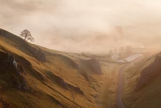 Winnats Pass - Morning Mist