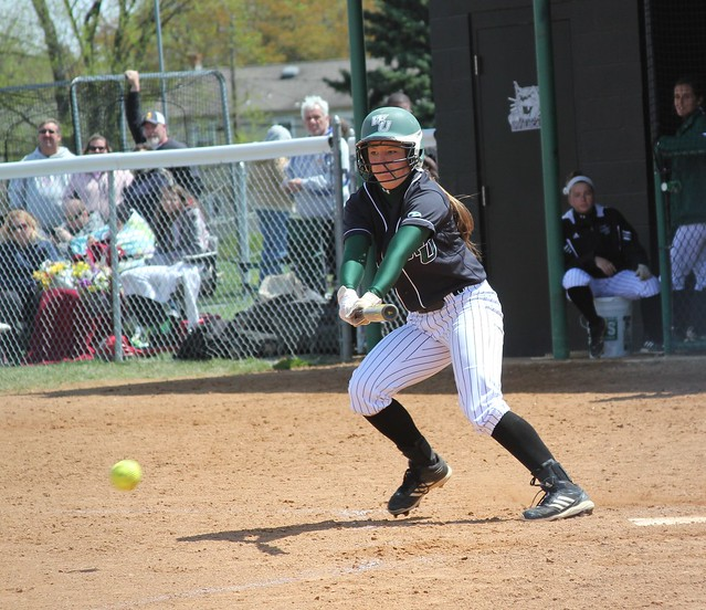 Freshman Brook Ash went a combined 3-for-7 on Saturday with her first hit of the day being her 63rd of the season, setting a new Wilmington mark for a single year. Copyright 2013; Wilmington University. All rights reserved.