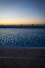 Open Air in the Evening // Freiluft am Abend (Frank Lindecke) Tags: garachico holiday openairpool schwimmbad spain spanien tenerife teneriffa urlaub vacation kanarischeinseln