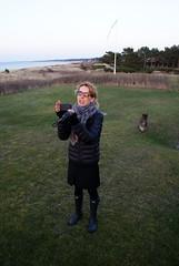 InsTinagram (osto) Tags: woman dog chien pet animal cane denmark europa europe sony w hond perro terrier zealand otto pies tina dslr scandinavia danmark cairnterrier a300 kpek sjlland  osto alpha300 osto april2013