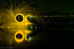 Steel Wool-20130420-14 (Srini Rajamani) Tags: chicago lightpainting night harlem worth lightpaintinglongexposure chicagourbex steelwoolpainting steelwoolphotogoraphy harryyourellaerationstation