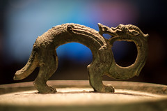 Handle on a Qin era pot lid (zeegeezer) Tags: china terracotta first warriors emperor qin utata:project=ip173