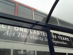Rep bus ad - Act one lasted 100 years. Act Two starts 3rd September (ell brown) Tags: greatbritain england bus mobile birmingham unitedkingdom rep samsung billboard busstop advert mobileshots westmidlands fiveways therep broadst repertorytheatre birminghamrepertorytheatre busadvert birminghamrep nationalexpresswestmidlands therepertorytheatre flickrandroidapp:filter=none samsunggalaxyace2 rep100 acttwostarts3rdseptember actonelasted100years