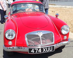 MGA (Aaron1088) Tags: christchurch classic cars run mg prom mga felixstowe ipswich 2013 flickrchallengegroup