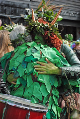 'Jack in the Green' May Day Celebrations, Hastings (Vicburton) Tags: carnival flowers decorations party people black tree green face hat leaves giant fun town costume ribbons faces ivy garland bodypaint parade masks celebrations hastings facepaint mayday celebrate fancydress jackinthegreen