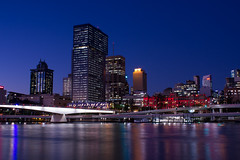 Brisbane by night (Inspire Kelly) Tags: night landscape photography brisbane slowshutter longshutter