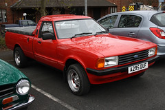 Ford Cortina Mk4 Pick Up A295DUF (Not that grumpy) Tags: ford cortina up pick mk4 fordownersgathering leylandlancashire28april2013britishcommercialvehiclemuseum a295duf