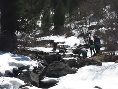 (Obakeneko) Tags: people snow mountains water video vimeo stream hiking walk manual gps ru desc altairepublic canonpowershots90 garmindakota20 ustkoksinskydistrict stay