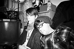 Party Hard? (Photogenix Concepts) Tags: portrait blackandwhite men boys monochrome nikon pipe smoking plaid tobacco d3100 nikond3100